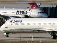 מטוס של דלתא / צילום: אריק מילר, רויטרס