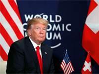טראמפ בדאבוס / צילום: רויטרס