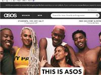 אתר הקניות  ASOS  / צילום מסך