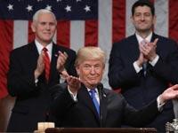 הנשיא טראמפ בנאום לקונגרס / צילום: רויטרס