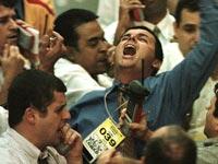המסחר בוול סטריט במשבר ירידות / צלם: רויטרס