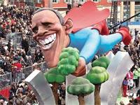ברק אובמה, סופרמן, הרפורמה הבריאותית / צלם רויטרס