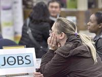 """לשכת תעסוקה ארה""""ב / צלם רויטרס"""