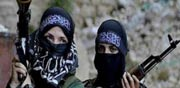 """לוחמות בדאע""""ש נשים בריגדה / צילום: וידאו"""