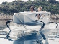 """חדש בשוק: כלי שיט חדשני וחסכוני """"שטס"""" מעל המים"""