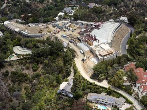 אחוזה בשווי 500 מיליון דולר, לוס אנג'לס, בברלי הילס, מיליארדרים, הוליווד / צילום: וידאו