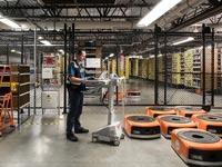 מחסן אמזון רובוטים / צילום: מהוידאו