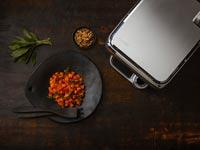 """תנור חכםsensing cooker  cinder / צילום: יח""""צ"""