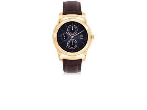 """שעון חכם מזהב של אל.ג'י LG Urban Luxe / צילום: יח""""צ"""