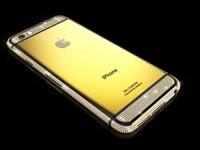"""אייפון 6 עם זהב ויהלומים Goldgenie  / צילום: יח""""צ"""
