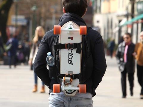 """כלי תחבורה עירוני, סקייטבורד חשמלי, Bolt , אינדיגוגו / צילום: יח""""צ"""
