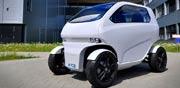 מכונית חשמלית שנוסעת הצידה  / צילום: EOscc2