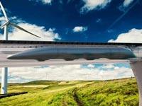 מערכת תחבורה עילית, מהירות הקול, אלון מאסק, הייפרלופ / צילום: וידאו