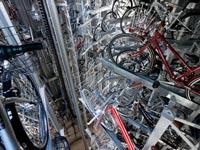 """חניה תת קרקעית לאופניים יפן טוקיו Eco Cycle  / צילום: יח""""צ"""