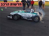 """צפו: רכב חדש שמגיע מ- 0 ל- 100 קמ""""ש ב- 1.77 שניות"""