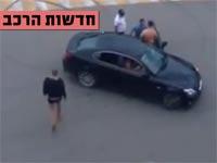 חם ברשת: נקמה אכזרית בנהג לקסוס שהשתולל בכביש
