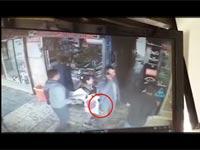 שוד בבית שמש/ צילום: מתוך הוידאו