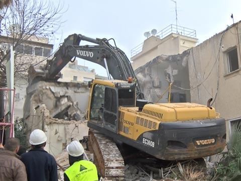 """תמ""""א 38/2 הריסה ובנייה. כנפי נשרים 25 רמת גן אנשי העיר / צילום: וידאו"""