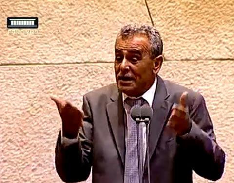 ג'אמל זחאלקה/ צילום: מתוך הוידאו ערוץ הכנסת