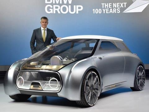 """קונספט מיני, מכוניות, רכב, mini vision next 100 concept / צילום: יח""""צ"""