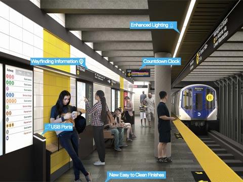 """שדרוג הרכבת התחתית של ניו יורק, סאבווי, MTA Capital Program / צילום: יח""""צ"""