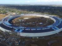 פרויקט יוצא דופן: צפו בקמפוס הגרנדיוזי של אפל