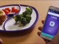 חדש בשוק: צלחת שמודדת את מס' הקלוריות באוכל שהונח בה