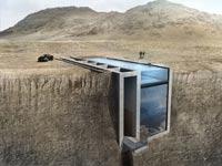 בית על קצה מצוק, לבנון, Casa Brutale, אדריכלות / צילום: Loom Design