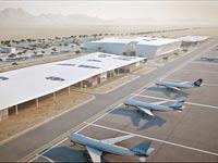 שדה התעופה הבינלאומי החדש בתמנע, תעופה, מטוסים / צילום: משרד אדריכלים מן שנער
