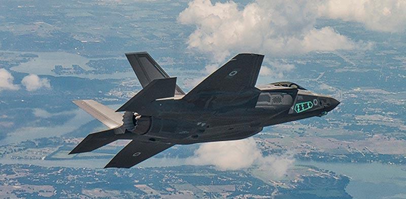מטוס קרב חמקן, לוקהיד מרטין, חיל האוויר הישראלי, אדיר, F-35i 901  / צילום: וידאו