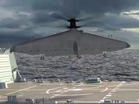 """מטוס ללא טייס להמראה ונחיתה אנכית, Tern , דארפה Northrop Grumman / צילום: יח""""צ"""