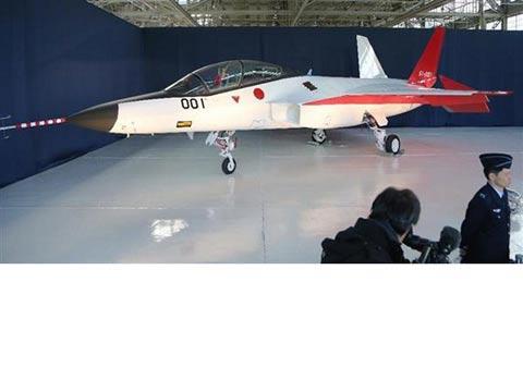 מטוס חמקן יפני  X-2 stealth fighter / צילום: וידאו