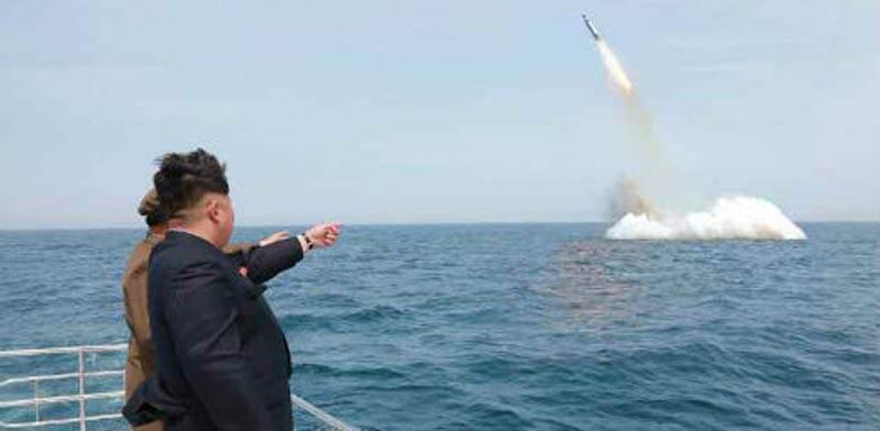 צפון קוריאה ,קים ג'ונג און ניסוי בפצצת מימן / צילום: וידאו