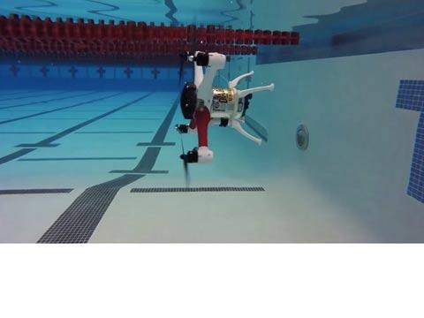 רחפן אמפיבי Loon Copter, אוניברסיטת אוקלנד / צילום: וידאו