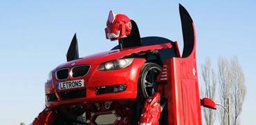 """רובוטריק אמתי, מכונית שהופכת לרובוט, סטארט אפ טורקיה Latrons / צילום: יח""""צ"""