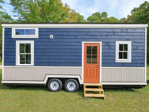 """בית זעיר על גלגלים, indigo Driftwood Homes USA / צילום: יח""""צ"""
