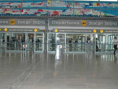 """טרמינל 3, נתב""""ג/ צילום: תמר מצפי"""
