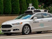 """מונית ללא נהג, מוניות אובר אוטונומיות Autonomous Ubers / צילום: יח""""צ"""