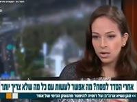 כתבת מתעלפת ערוץ 10 / צילום: מהוידאו