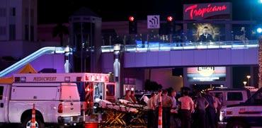 צפו בתיעוד: טבח בלאס וגאס -  לפחות 50 הרוגים ו-400 פצועים