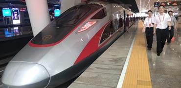 צפו: רכבת הקליע המהירה ביותר בעולם תחל לפעול בסין