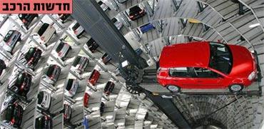המכוניות והדגמים הפופולאריים ביותר באירופה ובישראל היום