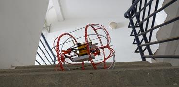 רובוט ישראלי חדש מסייע לאתר נפגעים באזורים מוכי אסון