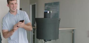 פטנט חדש: צפו ברובוט מעופף לבית – ראשון מסוגו בעולם
