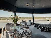 צפו: דירת יוקרה במגדל הפיקוח של שדה התעופה