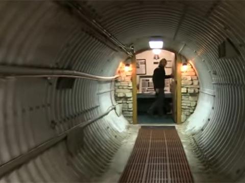 בית בבונקר גרעיני/ צילום: מתוך הוידאו