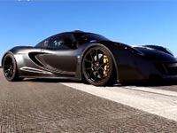 שיא מהירות חדש - מכונית מרוץ / צילום: מתוך הוידאו