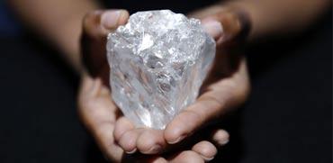 צפו: נמצא קונה ליהלום השני בגודלו בעולם אי פעם