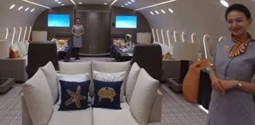 פאר בלתי נתפס: הצצה למטוס הפרטי הגדול והיוקרתי בעולם