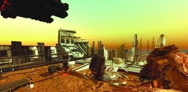 עיר על המאדים , דובאי/ קרדיט: מתוך הוידאו